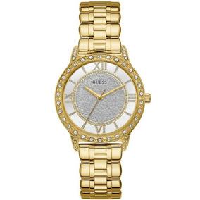 Relogio Guess Em Aco Dourado - Joias e Relógios no Mercado Livre Brasil b4eba2c406