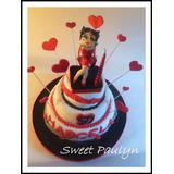 Tortas Artesanales Decoradas Sweet Paulyn Betty Boop