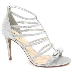 Sandália Zariff Shoes Noiva Glitter   Zariff