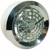Exaustor 25cm Cromado Luxo - Banheiro - Cozinha - Residência