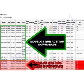 Downgrade Ps3 Fat Todos Ps3 Slim Conferir Tabela
