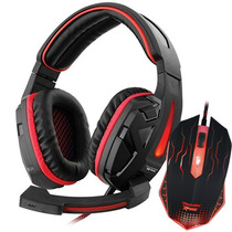 Kit Gaming Profissional Mouse Gamer Wixu + Headset Valkyrie