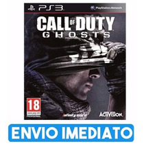Call Of Duty Ghosts Cod Ps3 Cod Psn Envio Na Hora