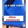 Lona Pvc-vinil P/toldo-palco-tatames-tenda-rolo 50m-cor Azul