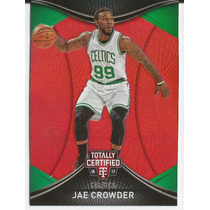 2016-17 Panini Totally Certified Red /199 Jae Crowder Celtic