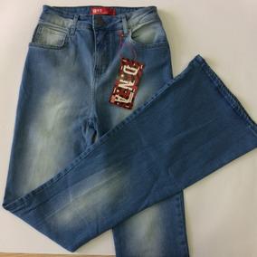 Calça Jeans Feminina Flare Be Red Alta Marca Da Coca Cola Je