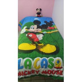 Mickey Mouse Bonito Edredon Individual