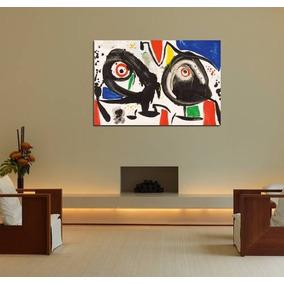 Cuadro Joan Miro Pintor Clasico Surrealismo Arte 60x90cm