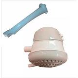 Ducha Electrica Duchador Calentador De Agua + Brazo Baños