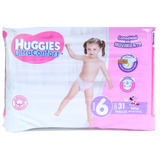 Pañal Huggies Ultraconfort Etapa 6 Para Niña