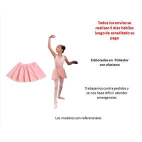 Mallas Ballet Danza Leotardo Falda Y Body Gimnasia Niñas