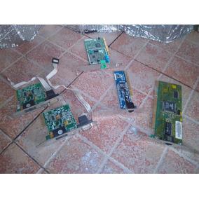 Tarjetas De Red Lan Y Fax Modem Con Puerto Serial, Usadas