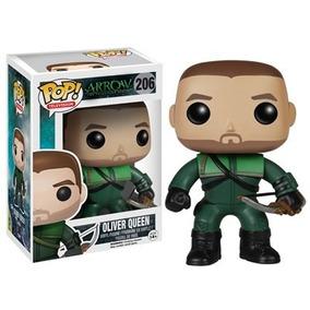 Funko Pop Oliver Queen Arqueiro Liga Justiça Arrow 206
