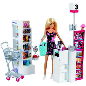 Boneca Barbie - Supermercado De Luxo - Mattel