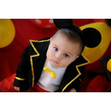 Fantasia Mickey Luxo Pp 1/2 Anos