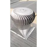 Extractor Eólico 60 Cm Con Base . Ventilación Industrial