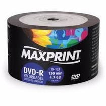 100 Dvd -r Maxiprint 16x Logo Original