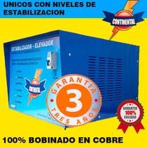 Elevadores De Tension.10kw C/ Corte140v. Bobinado En Cobre .