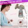 Extractor Saca Leche Manual Succionador Lactancia Biberon