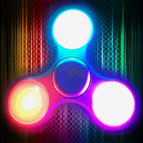 Hand Spinner Con Luz Led Fidget Antiestrés Stock Ya!