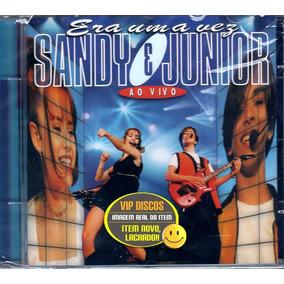 Cd Sandy E Junior Era Uma Vez Ao Vivo - Lacrado Novo!!!