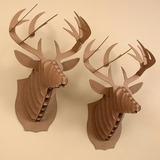 Cabeça Mdf 3d - Cervo/veado - Rinoceronte - Unicornio