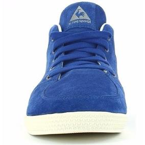 Zapatillas Botitas Lecoq Ajaccio Suede Azul Lefran