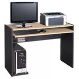 Mesa Computacion Escritorio Of Platinum 4240 Haya / Negro
