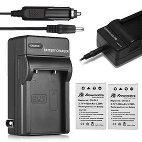 2 X Batería En-el5 + Cargador Para Nikon Coolpix P510 P520
