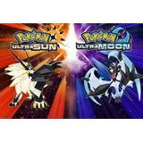 Pokémon Ultrasol Y Ultraluna 3ds Español Digital Pomonavidad