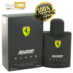 Perfume Ferrari Black 125ml Scuderia Importado Original