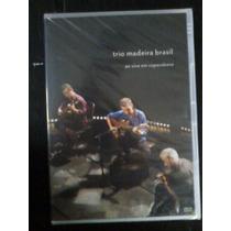 Dvd-trio Madeira Brasil Vivo Copacabana-orig.,lac.frete 5,00