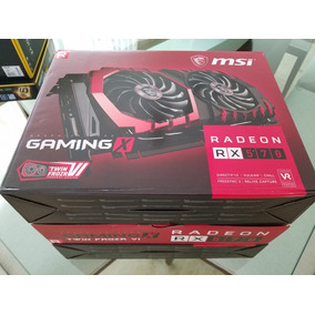 Gpu Tarjetas De Video Msi Radeon Rx 570 Gaming 4gb