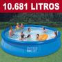 Piscina Inflável Easy Set 10681 Litros Intex Pronta Entrega