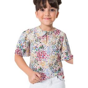 Blusa Floral Multicolorido Reserva Mini