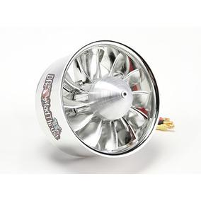 Turbina Edf 90mm 12 Pás Com Motor 3150w Até 8s Alta Perform