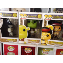 Funko Pop! Shrek Burro Y Gato Movie Envío Gratis