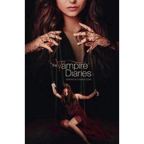 Caderno 1 Materia Com Adesivos The Vampire Diaires 00987