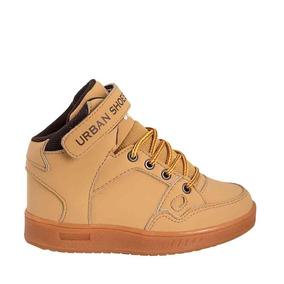 Botitas Bonitas Niñourban Shoes Mostaza Sintetico Up952