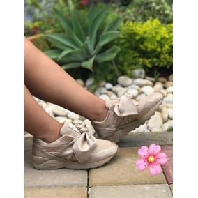 Zapatillas Tenis De Moño De Dama Mujer Calidad Colombiana