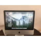 Vendo Imac 20 Pulgadas Mid 2007 O Cambio Por Cinema Apple
