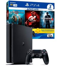 Playstation4 Ps4 Slim 1000gb - 3 Juegos - Mar Del Plata