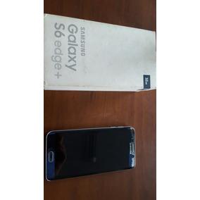 Celular Galaxy S6 Edge Plus Libre Todo Operador Remato 8/10