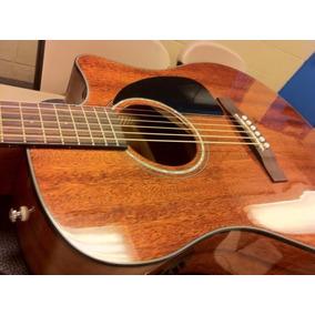 Fender Cd60ce All Mahogany C/ Estuche Rigido