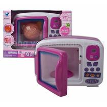 Micro-ondas Brinquedo Infantil Para Casinha Menina