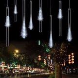 Luces Led Efecto 3m Lluvia Luz Blanca Decorativa Festejos
