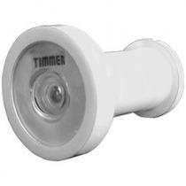 Olho Mágico 200º Timmer Para Portas De 34 A 46mm Branco