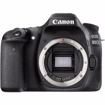Câmera Canon Eos 80d Dslr Lente 18-135 Stm 24.2mp Lançamento