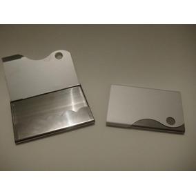 10 Porta Cartão De Visitas Crédito / Alumínio Pronta Entrega