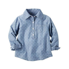 Carters Blusa Denim Talla 3